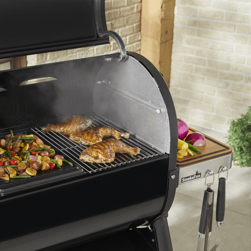 Weber Stainless Steel Cooking Grate - SmokeFire EX4/EX6 & Spirit 300 image number 1