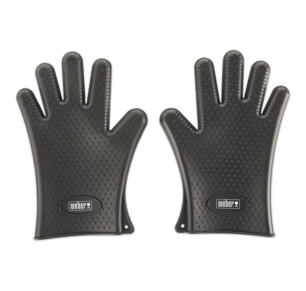 Weber Silicone Grilling Gloves View