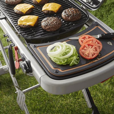 Weber Traveler Reversible Prep & Serve Board