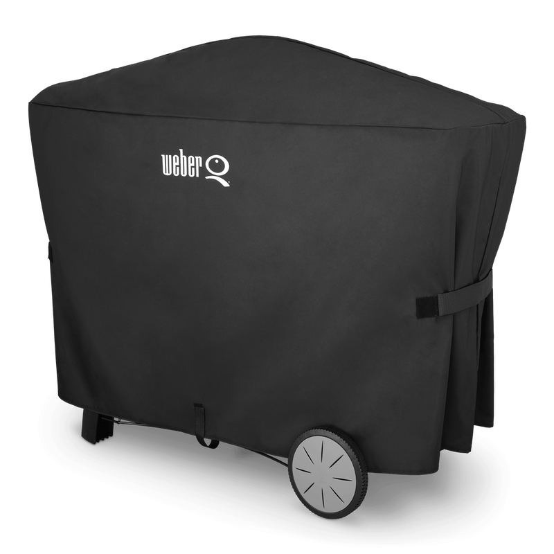 Premium Grill Cover - Q 2000 series with cart and Q 3000 series image number 0