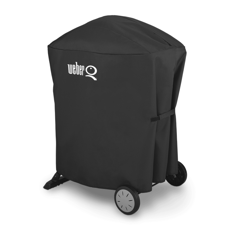 Premium Grill Cover - Q 100/1000/200/2000 with portable cart image number 0