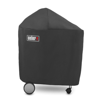 "Premium Grill Cover - Performer 22"" charcoal grills with folding table"