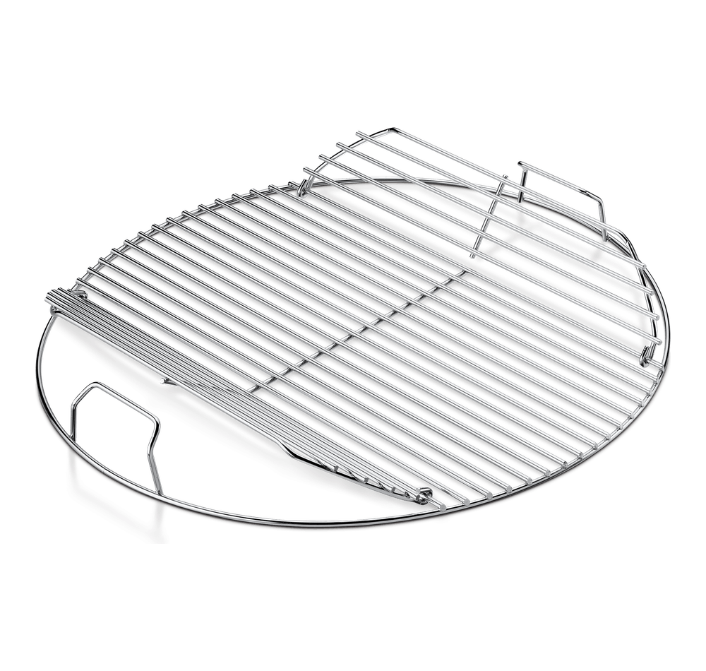 Hinged Cooking Grate View