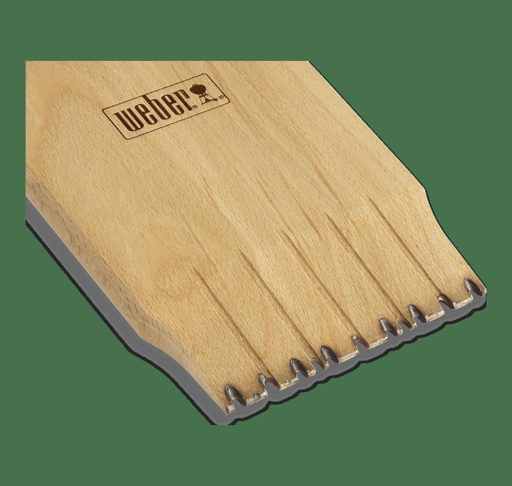 Raspador de madera para asador View