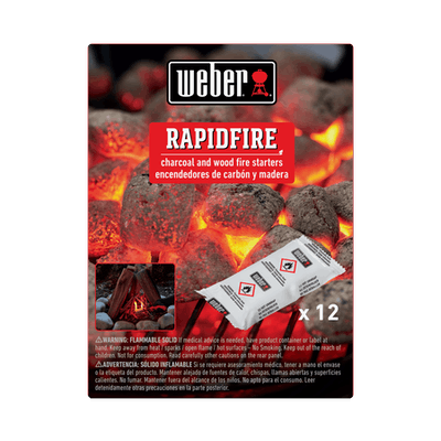 12 pc Rapidfire Fire Starters