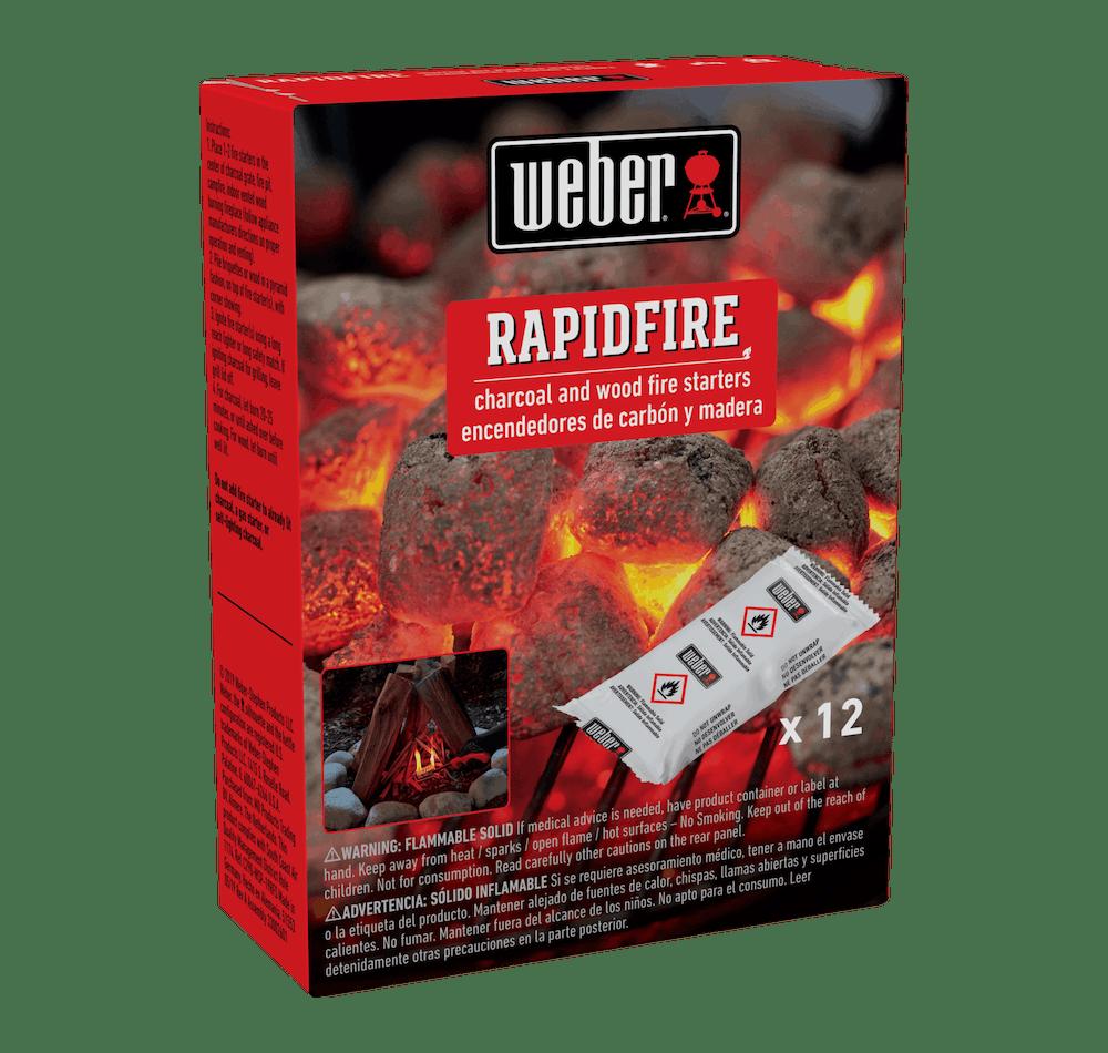 Weber Rapidfire Fire Starters View