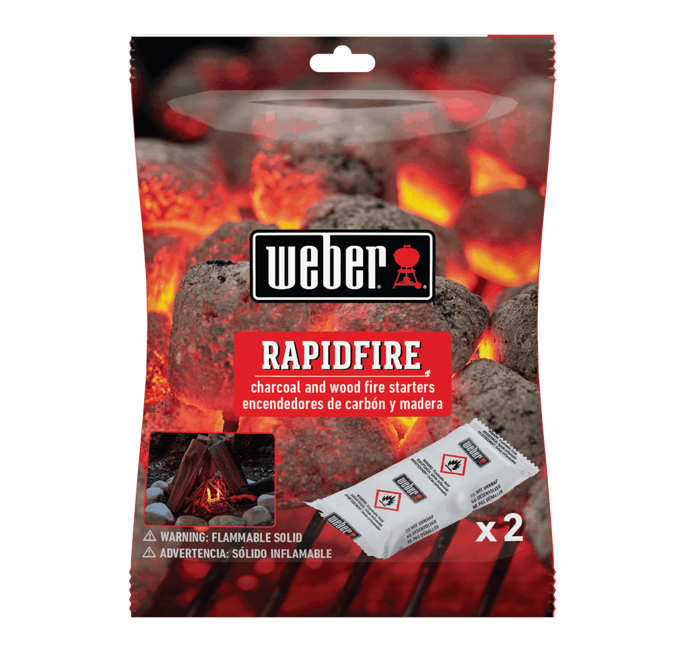 Weber Rapidfire Fire Starters View