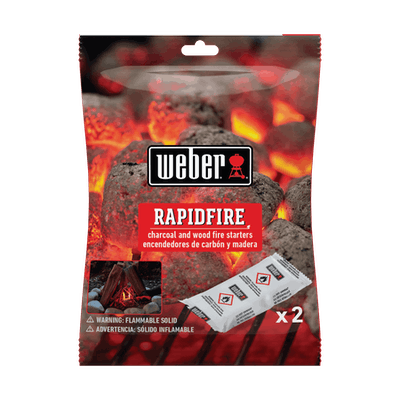 2 pc Rapidfire Fire Starters