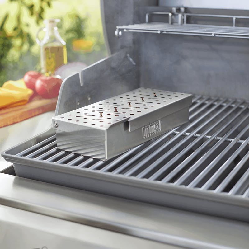 Smoker Box - Weber Q 200/2000 & larger gas grills image number 2