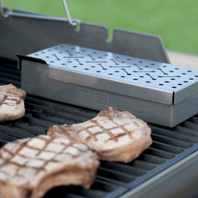 Smoker Box - Weber Q 200/2000 & larger gas grills image number 3