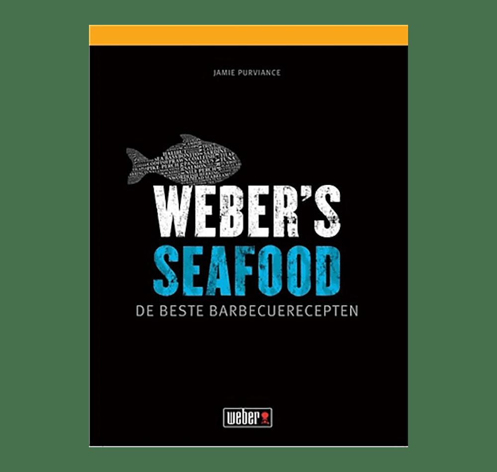 WEBER LIVRE DE RECETTES: 'WEBER'S SEAFOOD' (Version néerlandaise) View