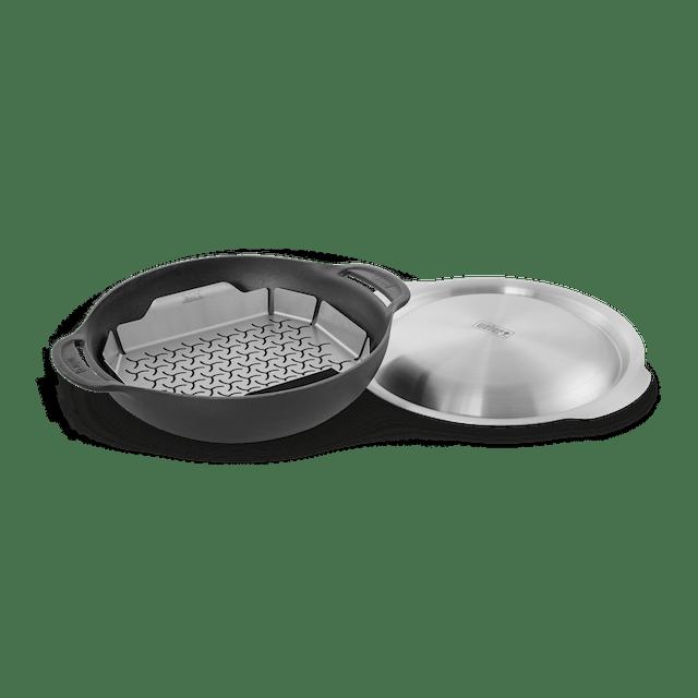 Wok-Set mit Dünsteinsatz