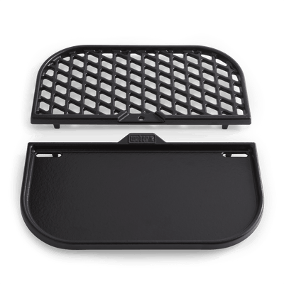Grill & Griddle Station - Gourmet BBQ System cooking grates