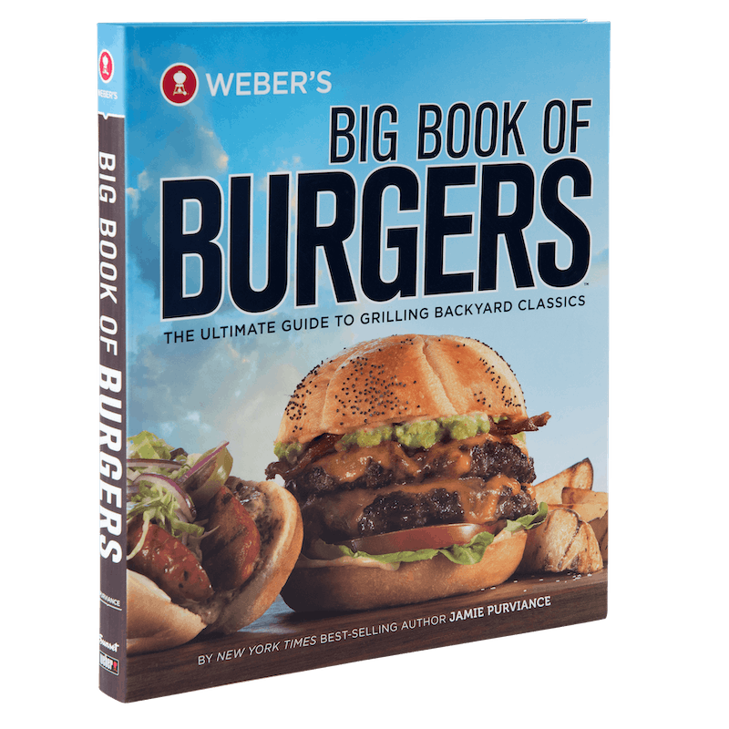 Weber's Big Book of Burgers image number 0
