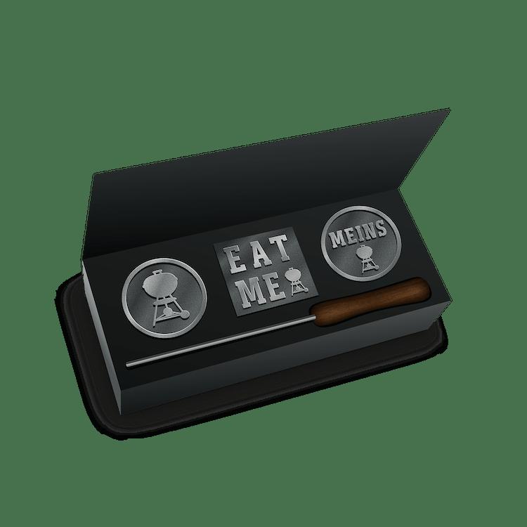 Premium-Brandeisen-Set