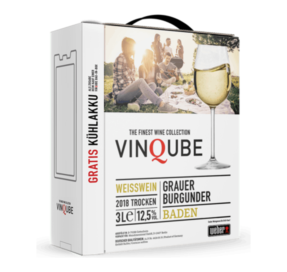 VinQube Weisswein View