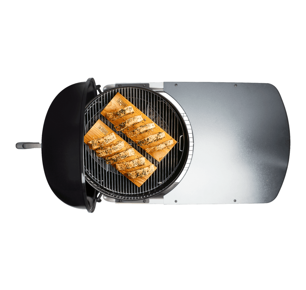 "Performer Deluxe Charcoal Grill 22"" image 2"