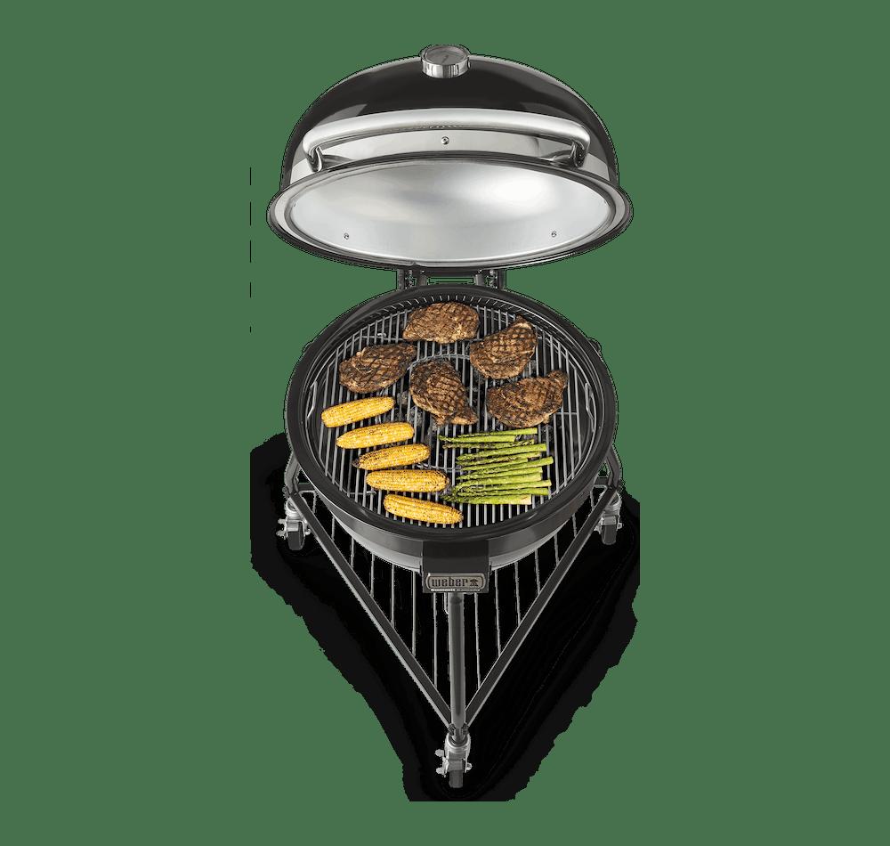 Summit® Kamado E6 Charcoal Grill View