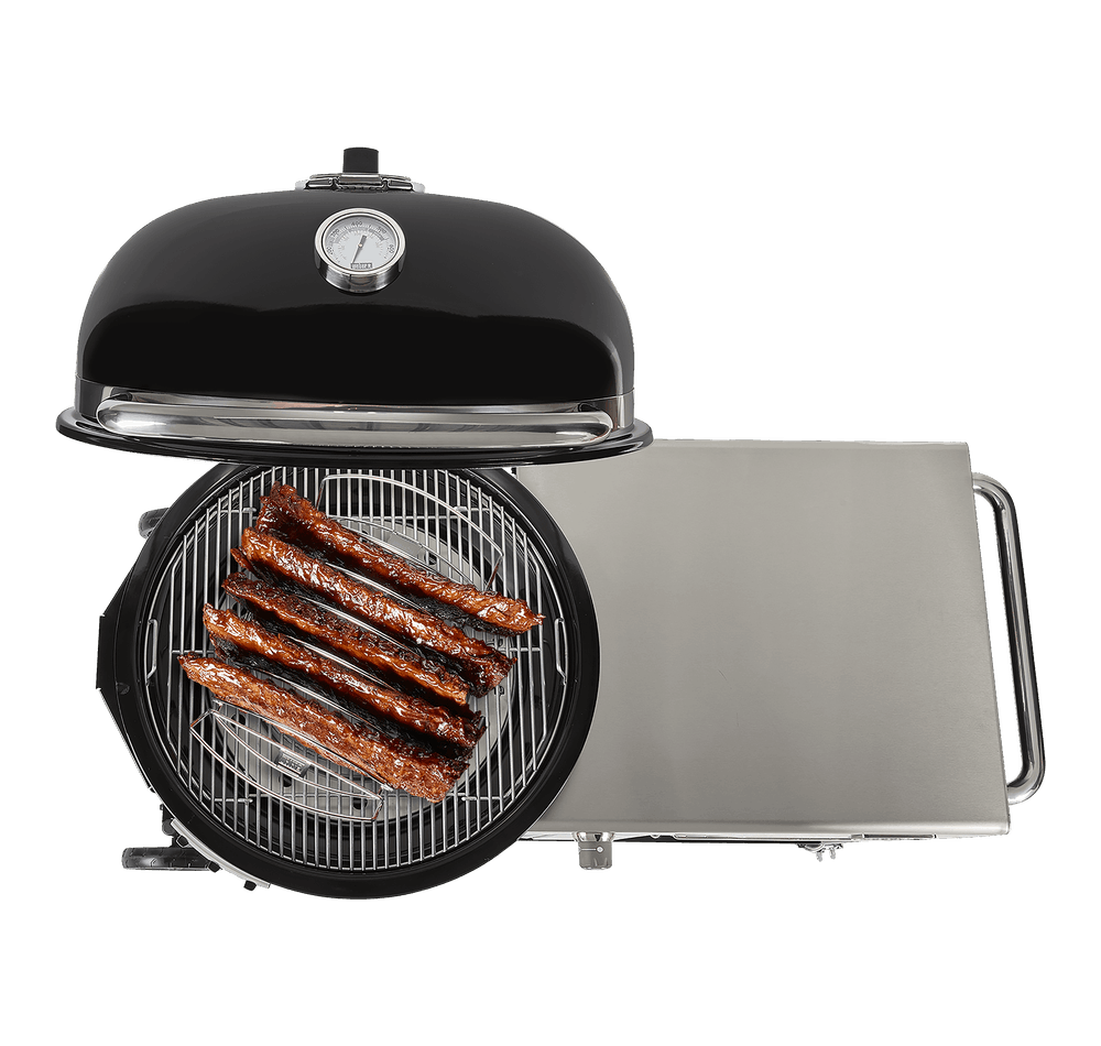 Summit® Kamado S6 Charcoal Grill Centre View