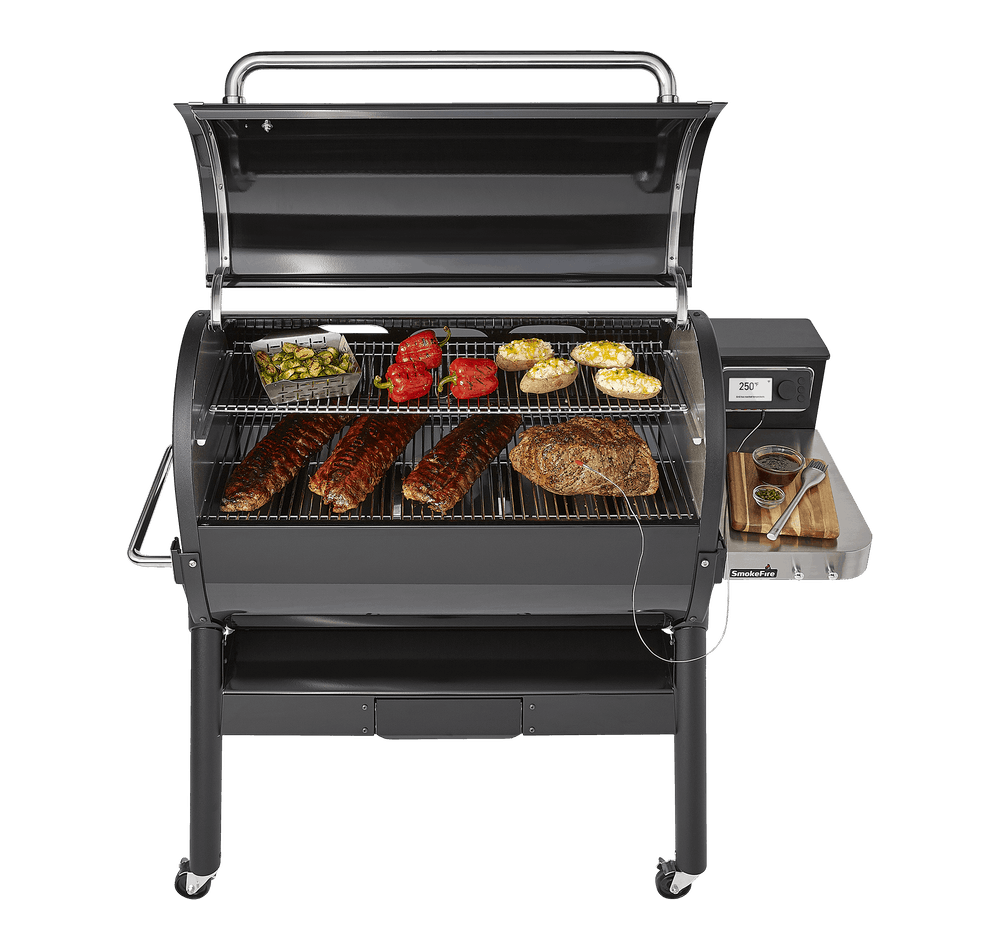 SmokeFire EX6 (2nd Gen) Wood Fired Pellet Grill View