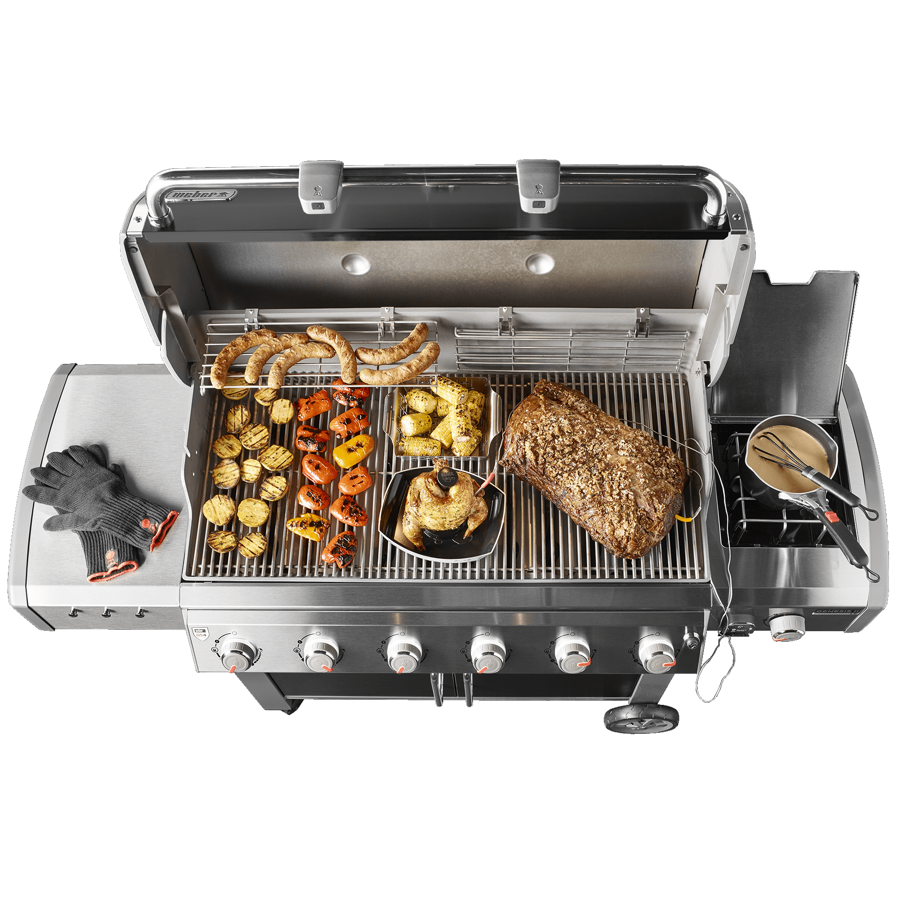 Genesis® II LX E-640 GBS Gas Barbecue