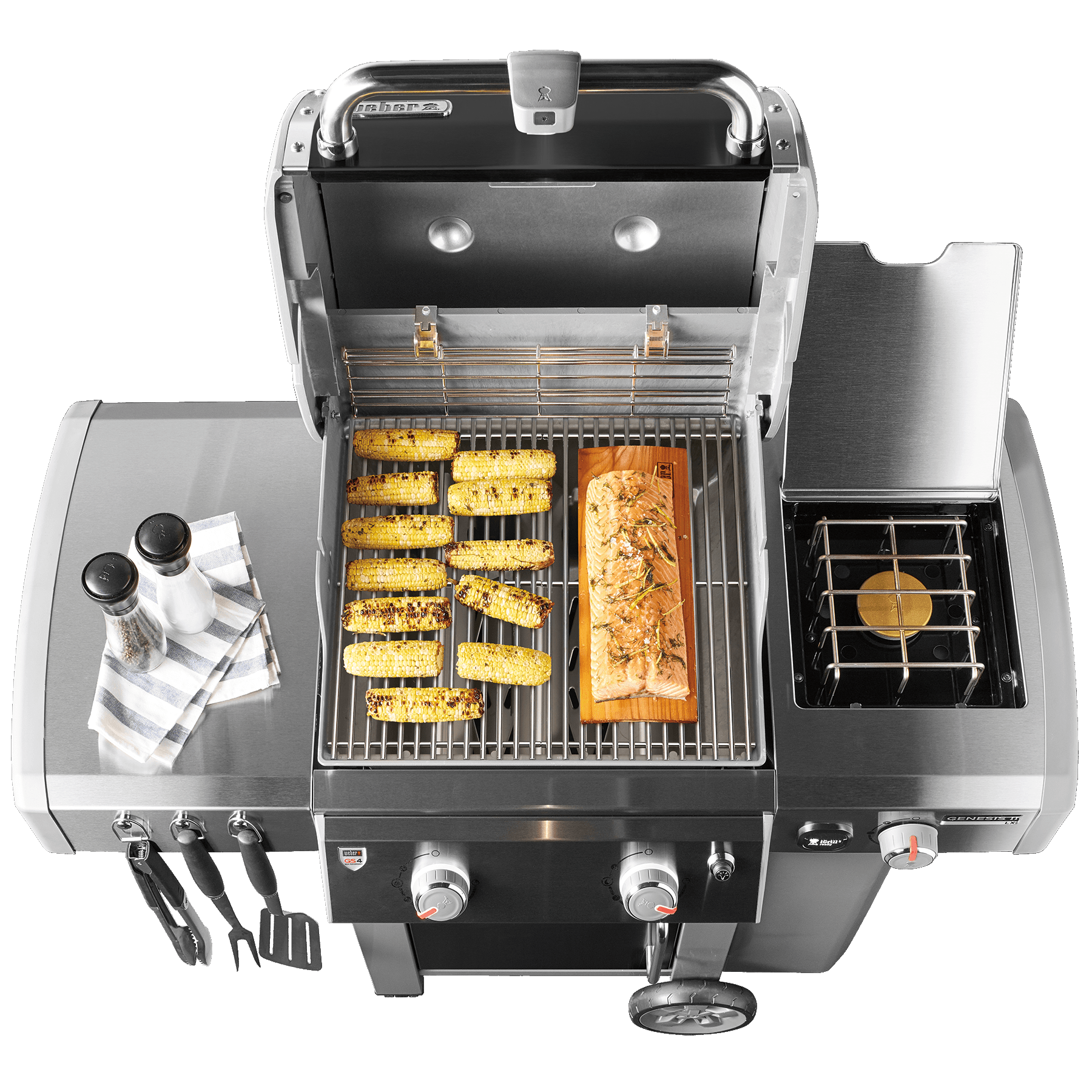 Barbacoa de gas Genesis® II LX E-240 GBS