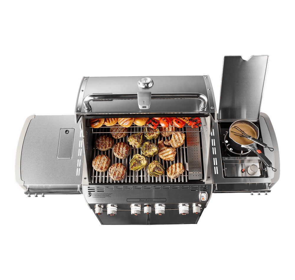 Summit® E-470 GBS Gas Barbecue View