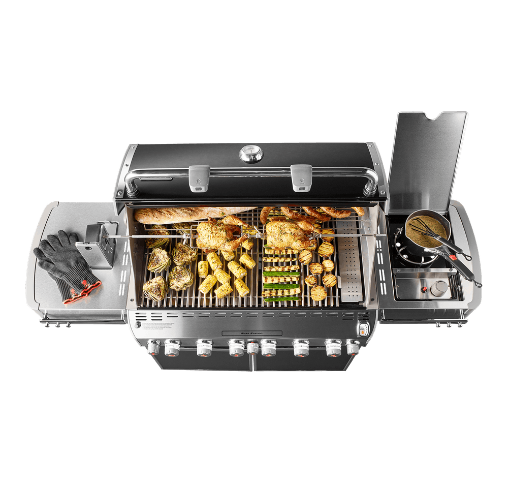 Summit® E-670 GBS Gas Barbecue View