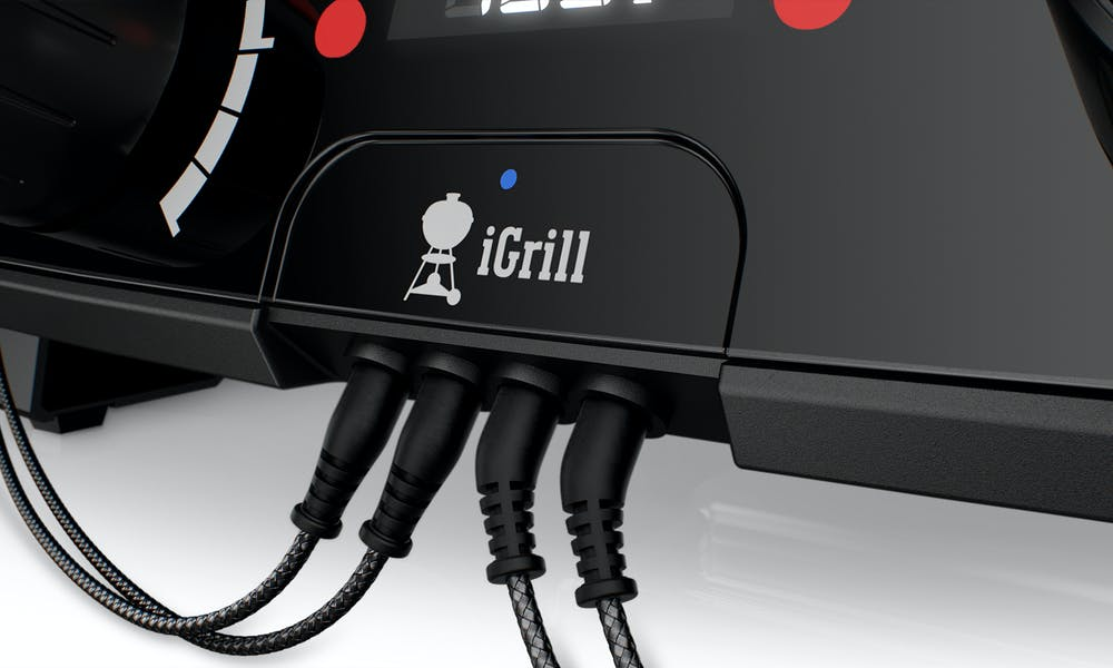 Integrovaná technológia iGrill / pre použitie s bezplatnou aplikáciou Weber iGrill