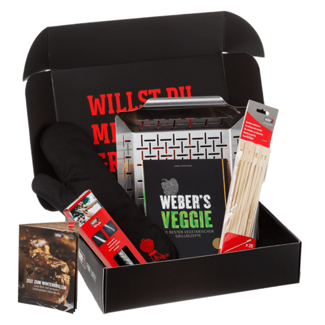 Weber Geschenkbox Veggie-Set