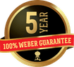 Weber Warranty Badge